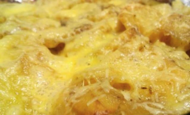 Картопля з сиром в мультиварці