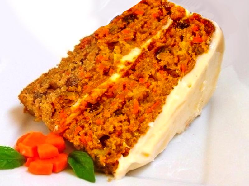 Морквяний пиріг з найсмачнішим кремом в мультиварці