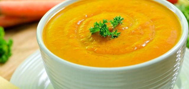 Морквяний суп-пюре у мультиварці