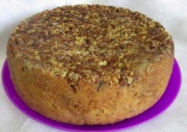 Пиріг з горіхами в мультиварці