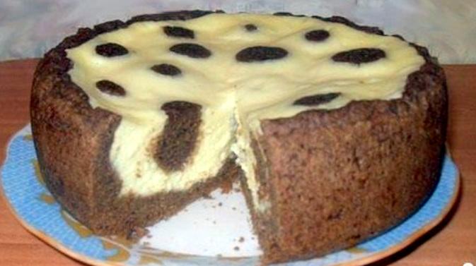 Пиріг «Жирафа» у мультиварці