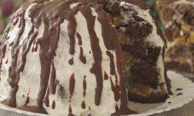 Торт «Панчо» в мультиварці