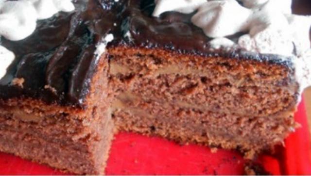 Торт Шоколадне кухе, в мультиварці