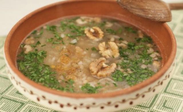 Вірменський суп воспнапур в мультиварці