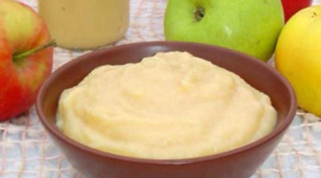 Яблучне пюре в мультиварці
